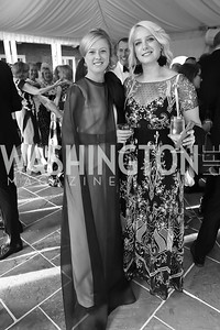 "Sophie Hawkins, Alex Roosenburg. Photo by Tony Powell. 2019 Hillwood ""Black & White"" Gala. June 4, 2019"