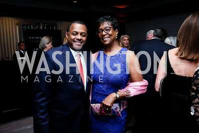 Mark and Brenda Moore Photo Naku Mayo INOVA Honors Dinner November 2019