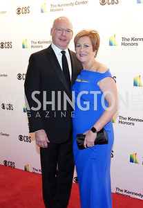 Peter Ellefson and Deborah Rutter. Photo by Tony Powell. 2019 Kennedy Center Honors. December 8, 2019