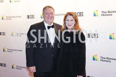 Sec. Mike Pompeo and Susan Pompeo. Photo by Tony Powell. 2019 Kennedy Center Honors. December 8, 2019