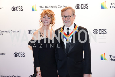 Kate Capshaw and Steven Spielberg. Photo by Tony Powell. 2019 Kennedy Center Honors. December 8, 2019