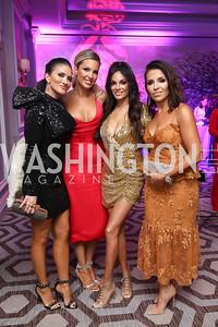 Jen Lopez, Elizabeth Smith, Bela Aggarwal, Lily Talakoub. Photo by Tony Powell. 2019 Knock Out Abuse. November 7, 2019