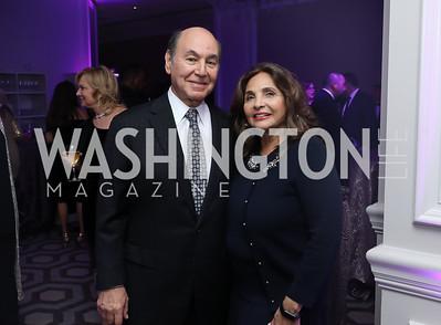 Houda and Samia Farouki. Photo by Tony Powell. 2019 Knock Out Abuse. November 7, 2019