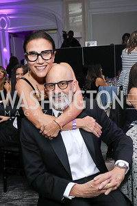 Nesrin Abaza and Mauricio Fraga-Rosenfeld. Photo by Tony Powell. 2019 Knock Out Abuse. November 7, 2019