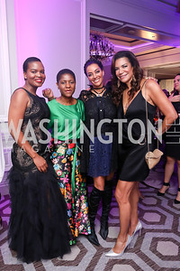 Changu Newman, Isabel Dosantos, Mary Barth, Ann Walker Marchant. Photo by Tony Powell. 2019 Knock Out Abuse. November 7, 2019
