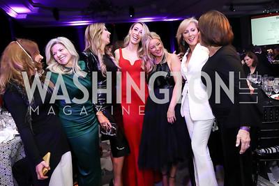 Indira Gumarova, Susi Larsen, Amy Baier, Kristen Lund, Jayne Visser, Jean-Marie Fernandez, Grace Bender. Photo by Tony Powell. 2019 Knock Out Abuse. November 7, 2019