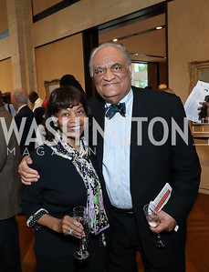 Buffy and Tony Miles. Photo by Tony Powell. Live It Learn It Spring Celebration. Kreeger Museum. May 2, 2019