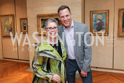 Louise Harkavy, Greg Albright. Photo by Tony Powell. Live It Learn It Spring Celebration. Kreeger Museum. May 2, 2019