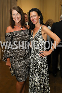 Traci Oliver, Diana Morahan. Photo by Tony Powell. 2019 Luxury Alliance Year-End Reception. Meridian International Center. December 3, 2019