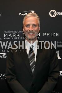 Jon Stewart. Photo by Tony Powell. 2019 Mark Twain Prize. Kennedy Center. October 27, 2019