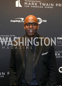 Dave Chappelle. Photo by Tony Powell. 2019 Mark Twain Prize. Kennedy Center. October 27, 2019