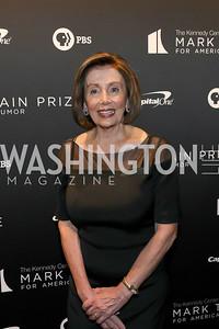 Speaker Nancy Pelosi. Photo by Tony Powell. 2019 Mark Twain Prize. Kennedy Center. October 27, 2019