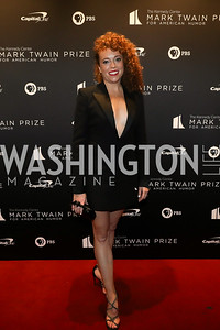 Michelle Wolf. Photo by Tony Powell. 2019 Mark Twain Prize. Kennedy Center. October 27, 2019