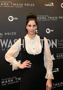 Sarah Silverman. Photo by Tony Powell. 2019 Mark Twain Prize. Kennedy Center. October 27, 2019