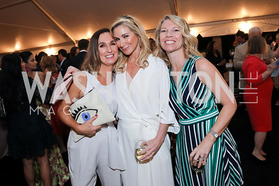 Jen Harlow, Angie Diba, Jennifer Adeli. Photo by Tony Powell. 2019 McLean Project for the Arts Spring Benefit. The Falls. May 16, 2019