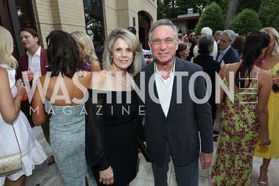 Sandra Vito, Andy Viola. Photo by Tony Powell. 2019 McLean Project for the Arts Spring Benefit. The Falls. May 16, 2019
