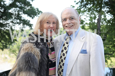 Lola Reinsch and Bill Detty. Photo by Tony Powell. 2019 McLean Project for the Arts Spring Benefit. The Falls. May 16, 2019