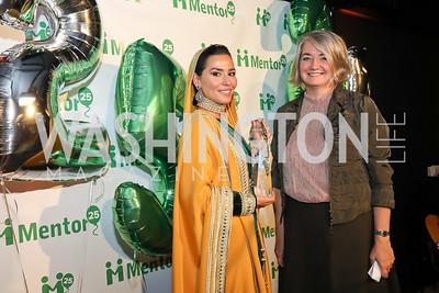 HH Princess Sora Saud, Sweden Amb. Karin Olofsdotter. Photo by Tony Powell. 2019 Mentor Foundation Gala. House of Sweden. November 15, 2019
