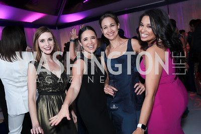 Kezia McKeague, Alma Caballero, Herlys Gianelli, Safiya Ghori-Ahmad. Photo by Tony Powell. 2019 Meridian Ball. October 25, 2019