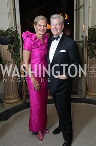 Kristen and Nels Olson. Photo by Tony Powell. 2019 Meridian Ball. October 25, 2019