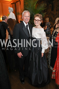 John and Antonia Gore. Photo by Tony Powell. 2019 Meridian Ball. October 25, 2019
