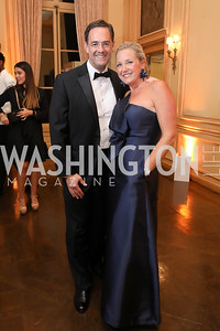 Ian and Mary Alberg. Photo by Tony Powell. 2019 Meridian Ball. October 25, 2019