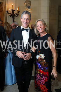 Brad and Debbie Dockser. Photo by Tony Powell. 2019 Meridian Ball. October 25, 2019