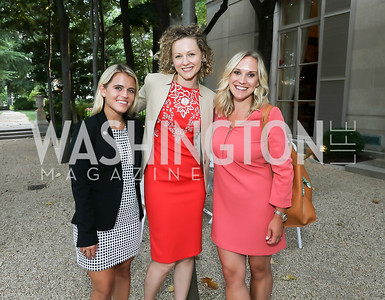 Kylie Cash, Elise Lemle, Crystal Bowyer. Photo by Tony Powell. 2019 Meridian Social Secretaries & Cultural Attachés Celebration. August 2, 2019