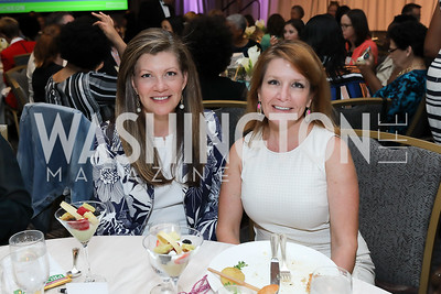 Kristin Bodenstedt, Catherine Zimmermann. Photo by Tony Powell. 2019 N Street Village Luncheon. Ritz Carlton. May 23, 2019