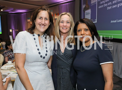 Liz Norton, Kathleen Biden, Portia Migas. Photo by Tony Powell. 2019 N Street Village Luncheon. Ritz Carlton. May 23, 2019