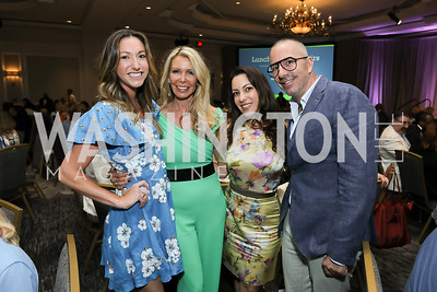 Sondra Hoffman, Nikki DePandi, Anastasia Dellaccio, Carl Ray. Photo by Tony Powell. 2019 N Street Village Luncheon. Ritz Carlton. May 23, 2019