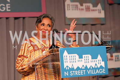 Cathy Hughes. Photo by Tony Powell. 2019 N Street Village Luncheon. Ritz Carlton. May 23, 2019