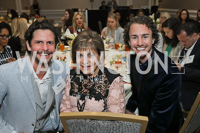 Julian Patterson, Annie Totah, Andrew Zukosky. Photo by Tony Powell. 2019 N Street Village Luncheon. Ritz Carlton. May 23, 2019
