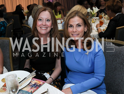 Elizabeth Centenari, Lynda Erkiletian. Photo by Tony Powell. 2019 N Street Village Luncheon. Ritz Carlton. May 23, 2019