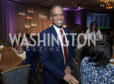Councilmember Brandon Todd. Photo by Tony Powell. 2019 N Street Village Luncheon. Ritz Carlton. May 23, 2019