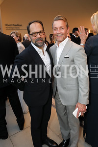 Philip Dufour and Todd Andochick. Photo by Tony Powell. 2019 NSO Gala. Kennedy Center. September 28, 2019