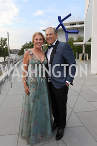 Gala Co-Chairs Anne Altman and Dan Pelino. Photo by Tony Powell. 2019 NSO Gala. Kennedy Center. September 28, 2019