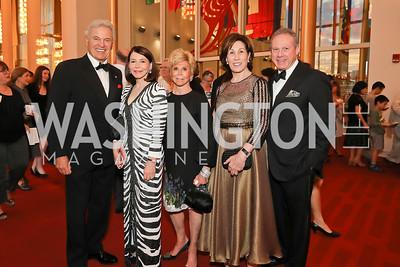 Stuart Bernstein, JoAnn Mason, Wilma Bernstein, Catherine and Wayne Reynolds. Photo by Tony Powell. 2019 NSO Gala. Kennedy Center. September 28, 2019.JPG