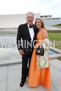 Philip Bermingham, Lisa Abeel. Photo by Tony Powell. 2019 NSO Gala. Kennedy Center. September 28, 2019
