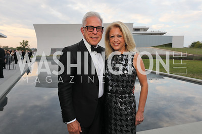 Edward and Debra Cohen. Photo by Tony Powell. 2019 NSO Gala. Kennedy Center. September 28, 2019