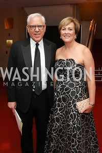 David Rubenstein, Deborah Rutter. Photo by Tony Powell. 2019 NSO Gala. Kennedy Center. September 28, 2019.JPG