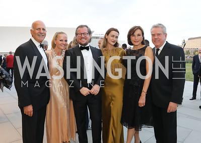 Dave and Jamie Dorros, Damir and Amra Fazlic, Monaco Amb. Maguy Maccario Doyle, Theo Adamstein. Photo by Tony Powell. 2019 NSO Gala. Kennedy Center. September 28, 2019.JPG