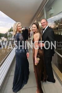 Sydney McNiff Johnson, Gwen Holliday, Jay Johnson. Photo by Tony Powell. 2019 NSO Gala. Kennedy Center. September 28, 2019.JPG