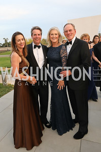 Gwen and Stuart Holliday, Sydney McNiff Johnson, Jay Johnson. Photo by Tony Powell. 2019 NSO Gala. Kennedy Center. September 28, 2019.JPG