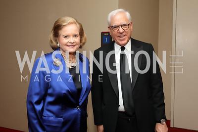 Sharon Percy Rockefeller, David Rubenstein. Photo by Tony Powell. 2019 NSO Gala. Kennedy Center. September 28, 2019.JPG