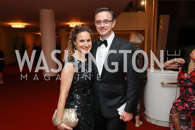 Kara and Timothy O'Leary. Photo by Tony Powell. 2019 NSO Gala. Kennedy Center. September 28, 2019.JPG