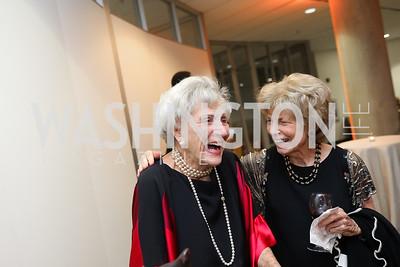 Marie Ridder, Bitsey Folger. Photo by Tony Powell. 2019 PEN/Faulkner Gala. Katzen Center. October 26, 2019