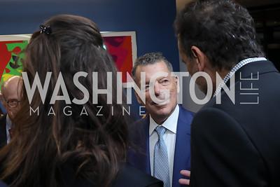 Elena Baranes, Conrad Cafritz, Shalom Baranes. Photo by Tony Powell. 2019 PEN/Faulkner Gala. Katzen Center. October 26, 2019