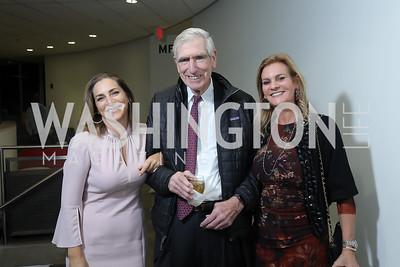 Rachel Goslins, C. Boyden Gray, Katharine Weymouth. Photo by Tony Powell. 2019 PEN/Faulkner Gala. Katzen Center. October 26, 2019