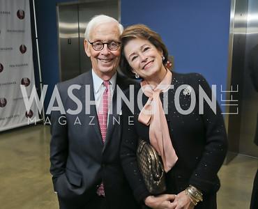 Lee and Toni Verstandig. Photo by Tony Powell. 2019 PEN/Faulkner Gala. Katzen Center. October 26, 2019